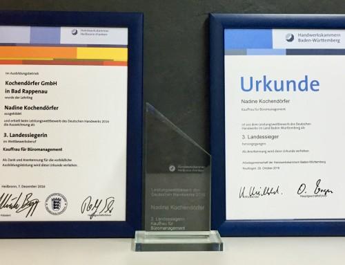 Leistungswettbewerb des Deutschen Handwerks 2016